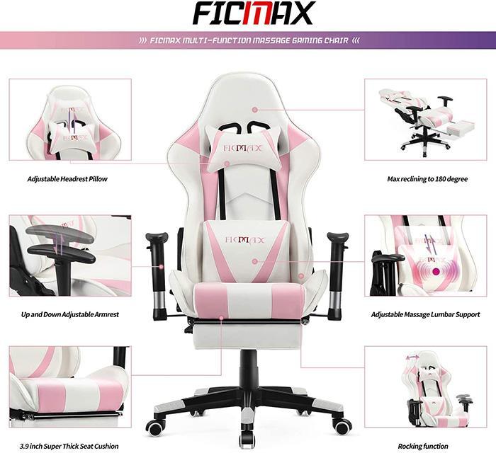 Gaming Stuhl Pink Hase