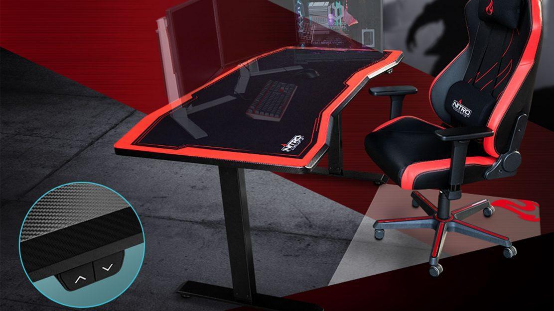 Gaming Stuhl Und Tisch
