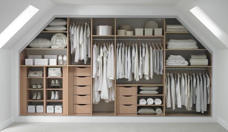 Garderobe Modern Grau