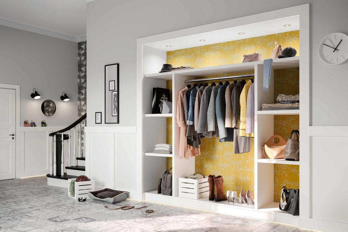 Garderobe Schmale Nische