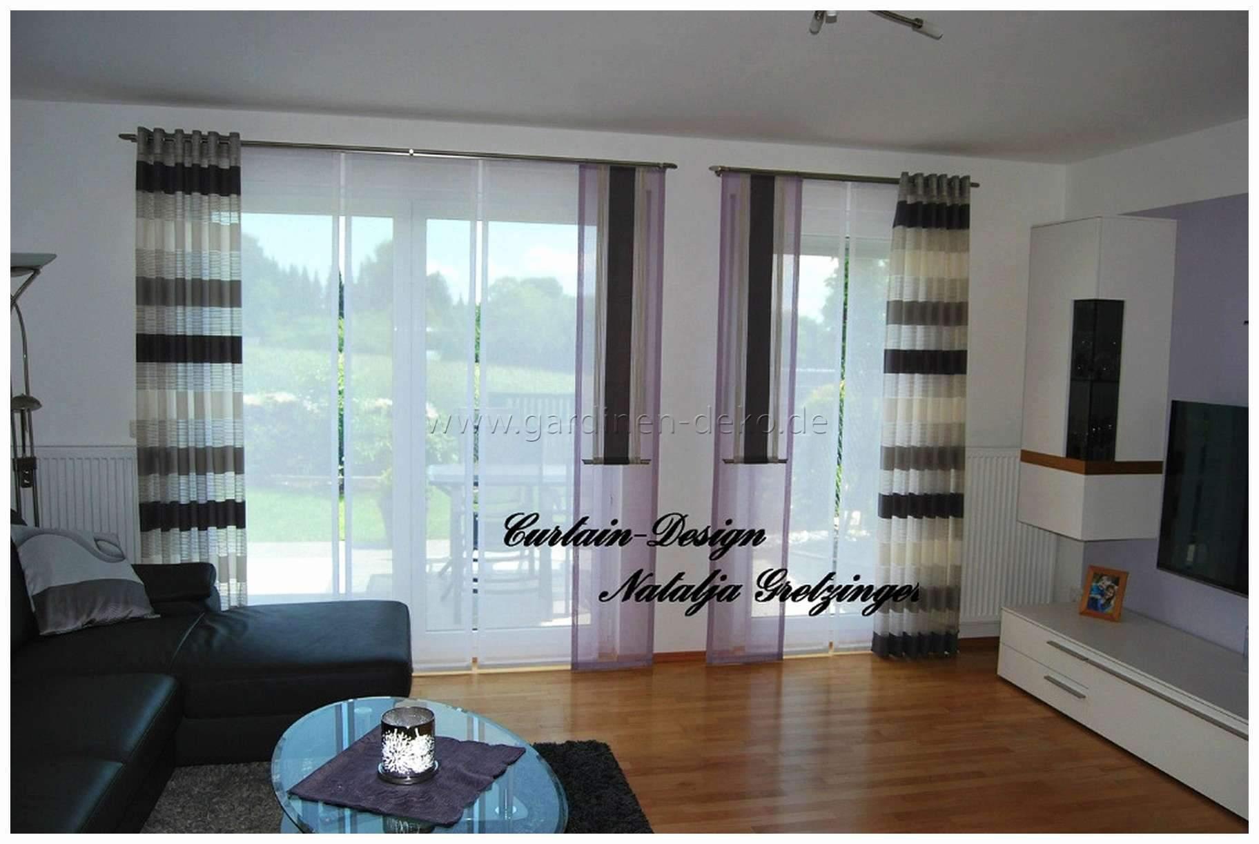Gardinen Set Wohnzimmer Gardinen Mit Balkontür Modern