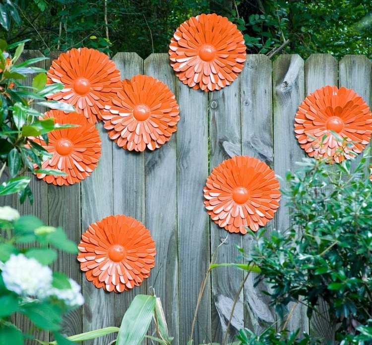 Garten Deko Ideen Zaun