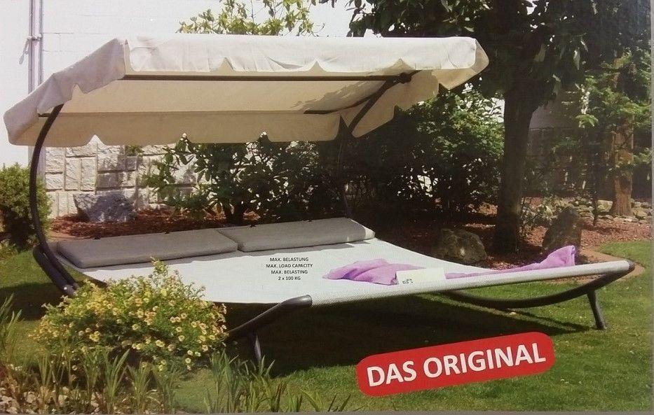 Garten Doppelliege Mit Dach