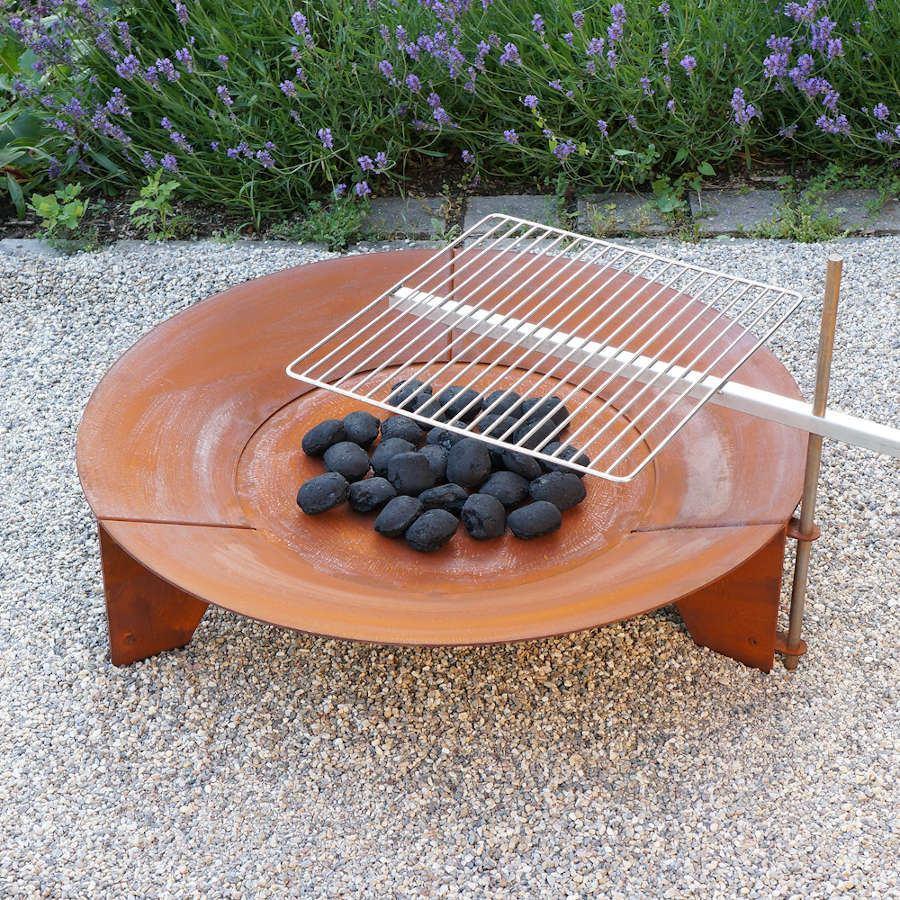 Garten Feuerstelle Mit Grill