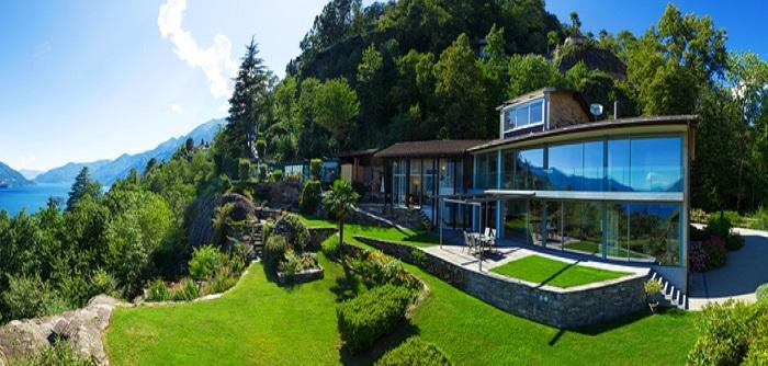 Garten Hanglage Terrasse