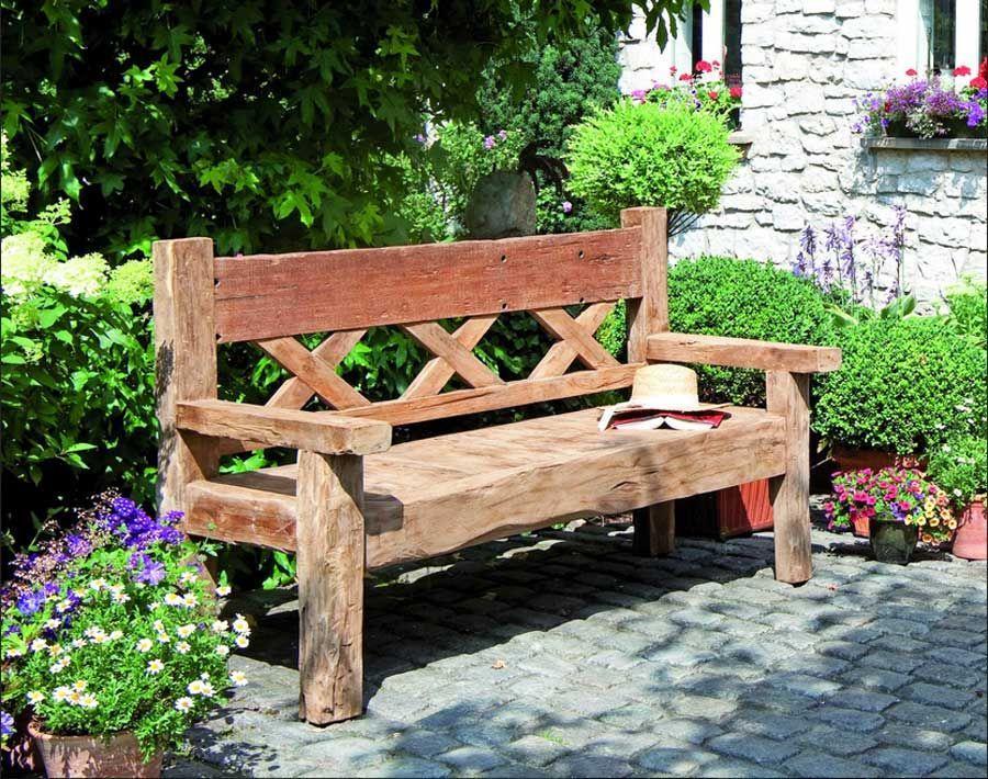 Garten Holzbank Kaufen
