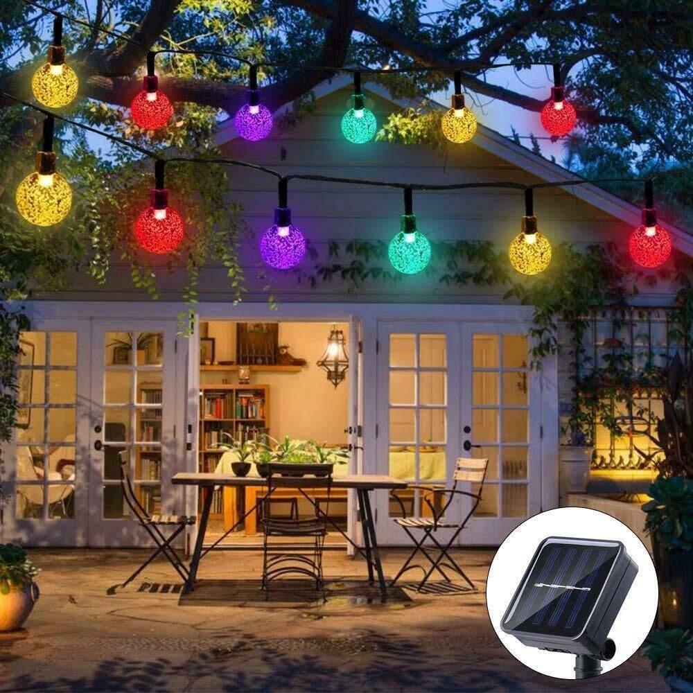 Garten Lichterkette Außen
