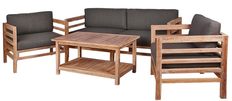 Garten Lounge Möbel Holz