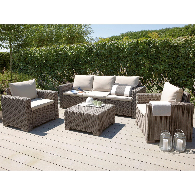 Garten Lounge Möbel Rund