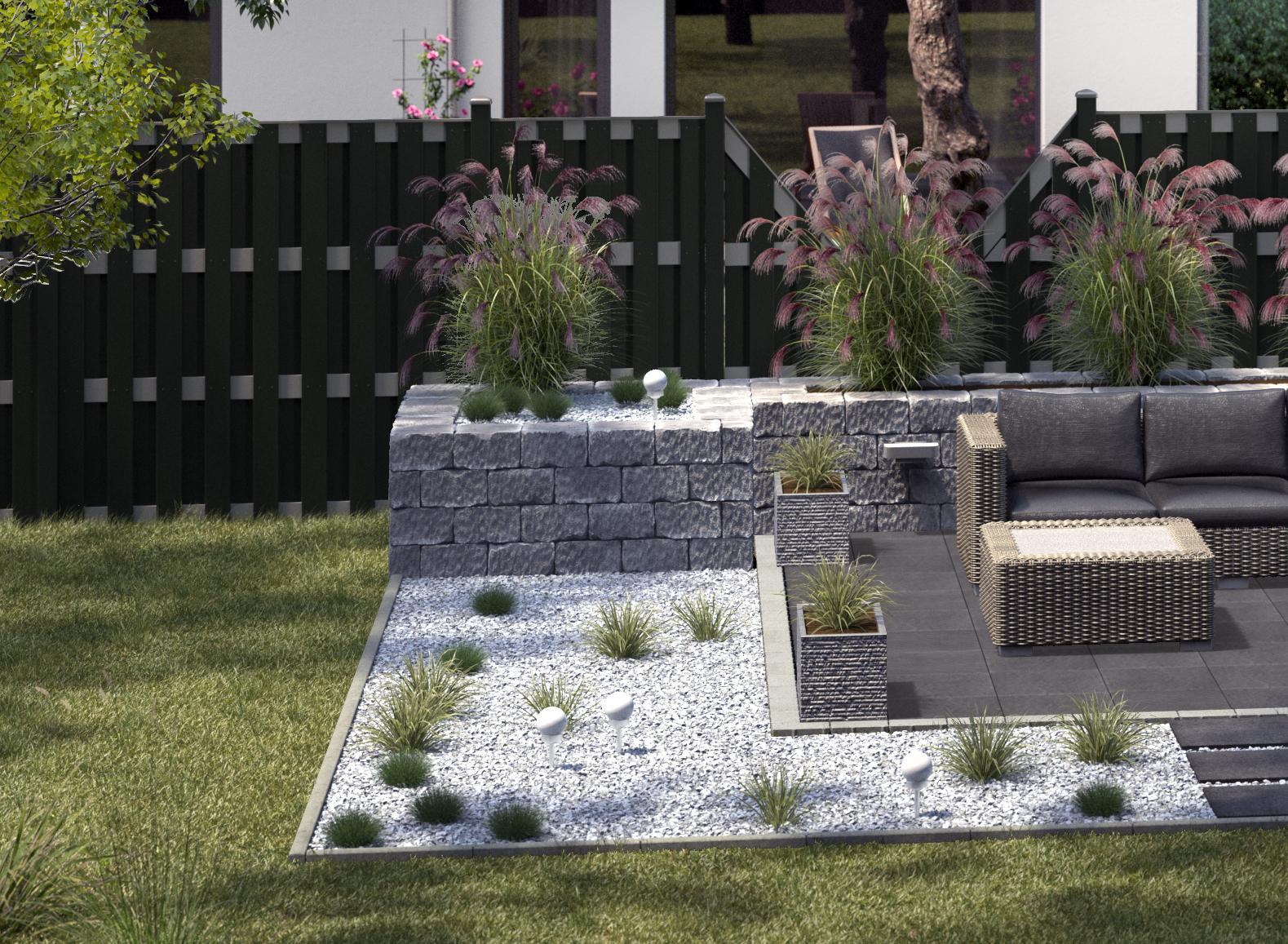 Garten Pflegeleicht Modern