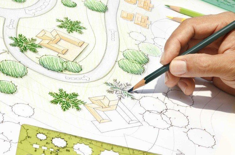Garten Planen Zeichnen