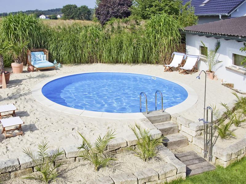 Garten Pool Bauen