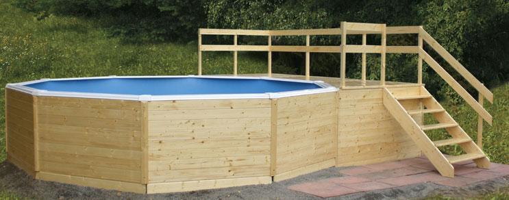 Garten Pool Holz