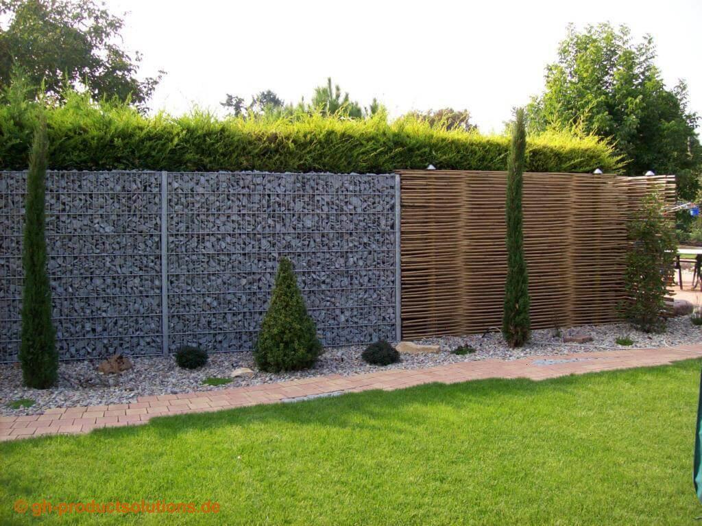 Garten Sichtschutz Ideen Pflanzen