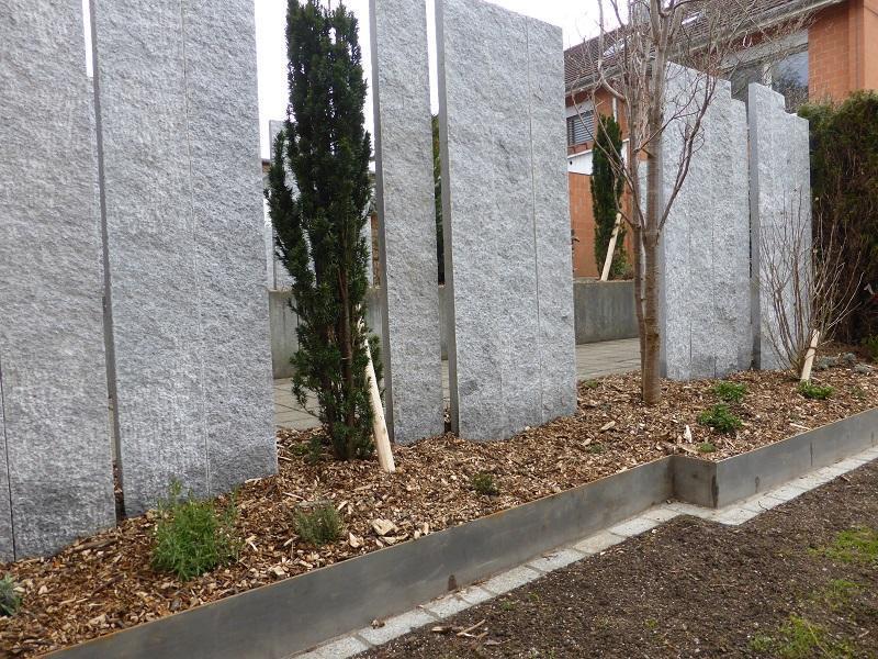 Garten Sichtschutz Stein
