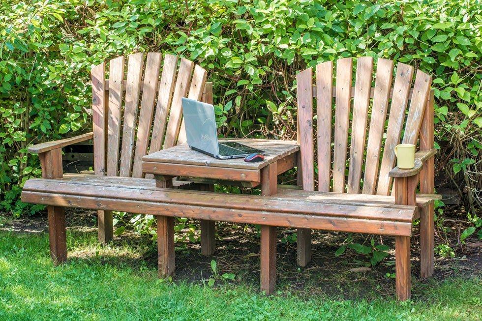 Garten Sitzecke Gestalten