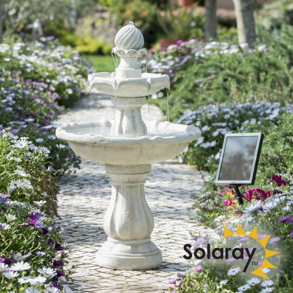 Garten Springbrunnen Solar