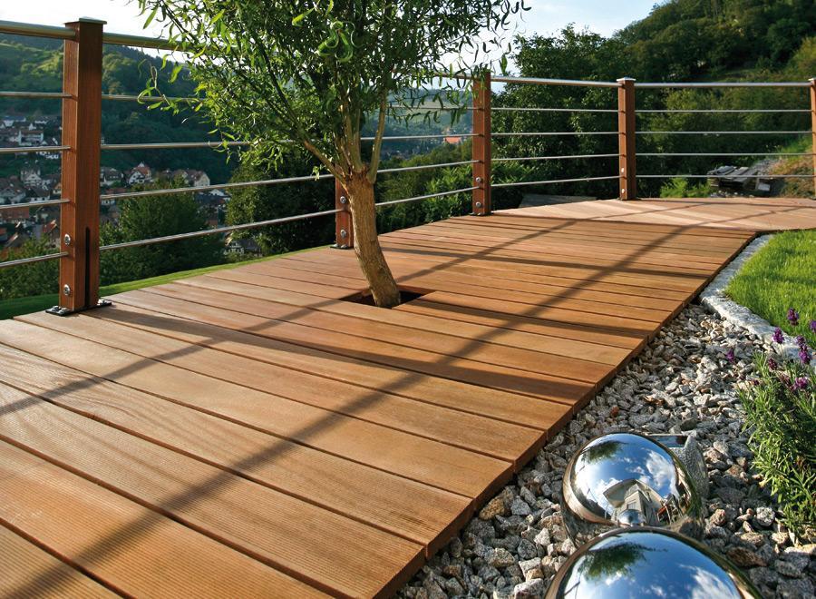 Garten Terrasse Holz