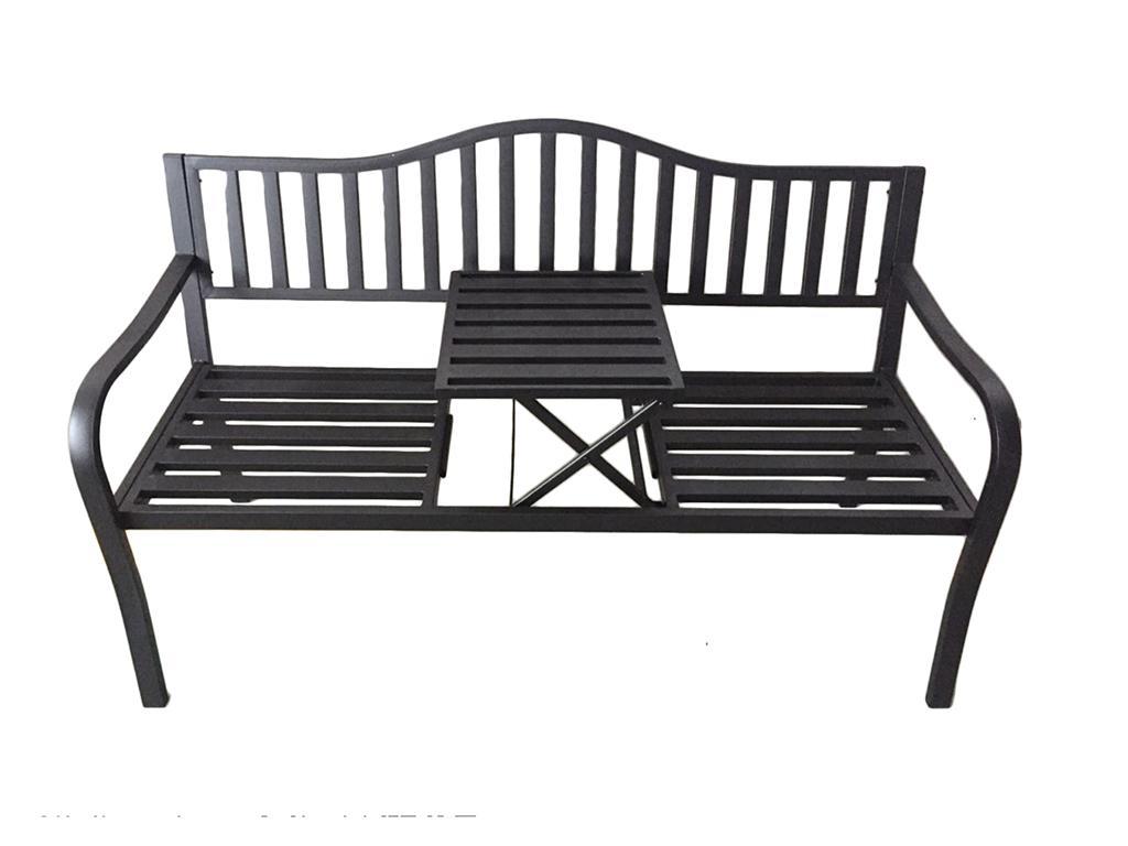 Gartenbank Mit Tisch Metall