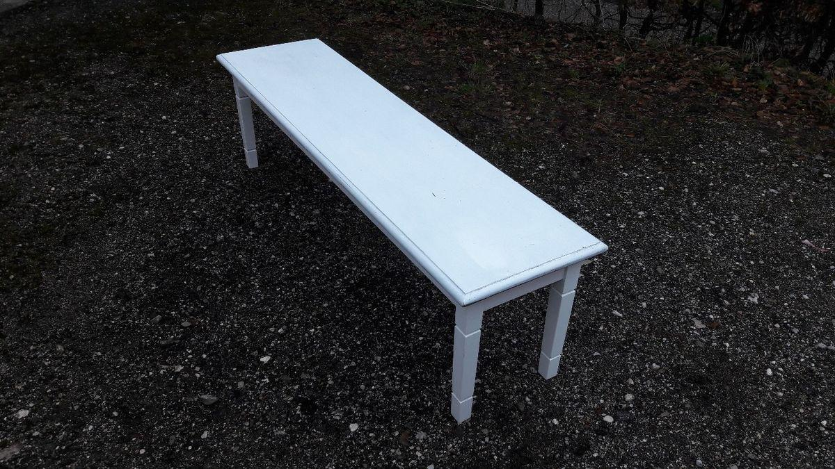 Gartenbank Weiß Dänisches Bettenlager