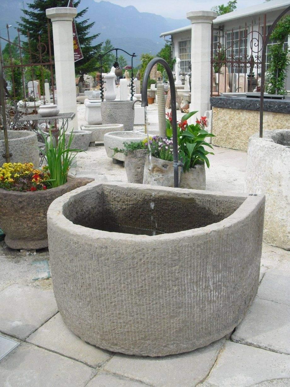 Gartenbrunnen Stein Selber Bauen