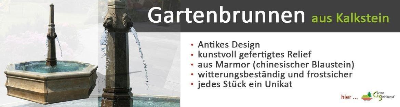 Gartenbrunnen Wasserspiele Garten Naturstein
