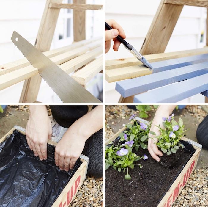 Gartendeko Bastelideen Aus Holz Für Den Garten