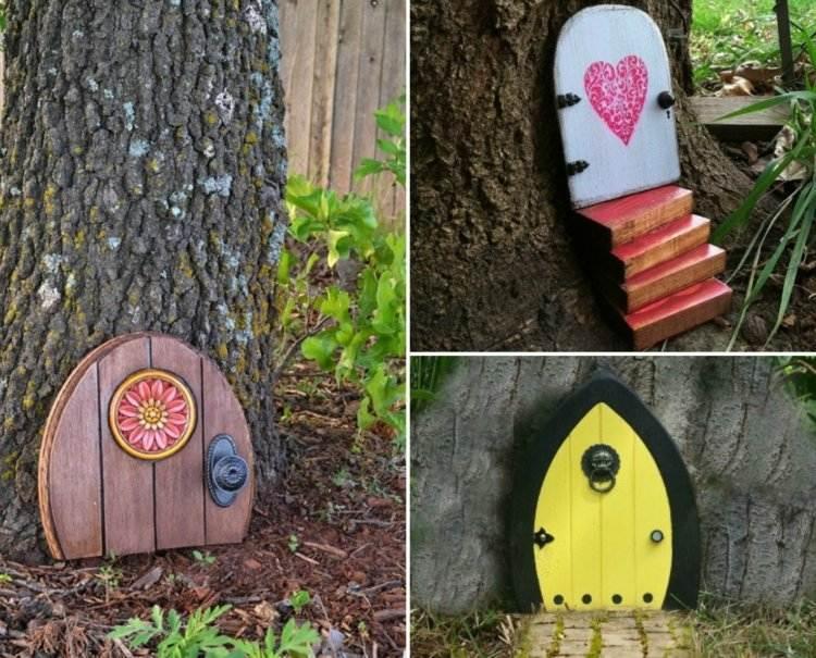 Gartendeko Ideen Aus Holz Selber Machen