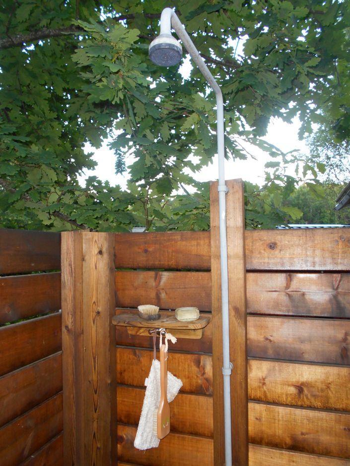 Gartendusche Holz Selber Bauen