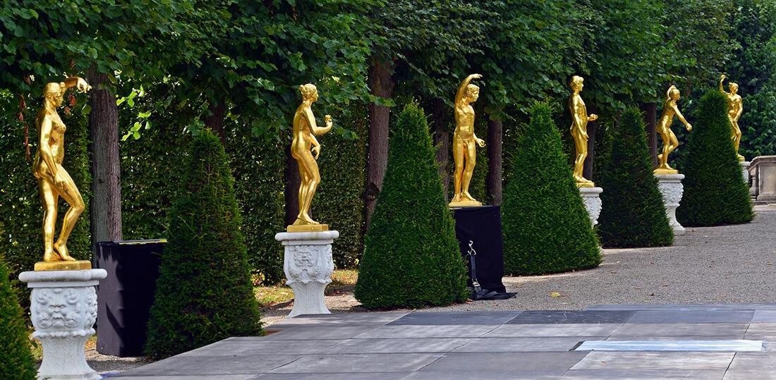 Gartenfiguren Aus Polyresin Groß