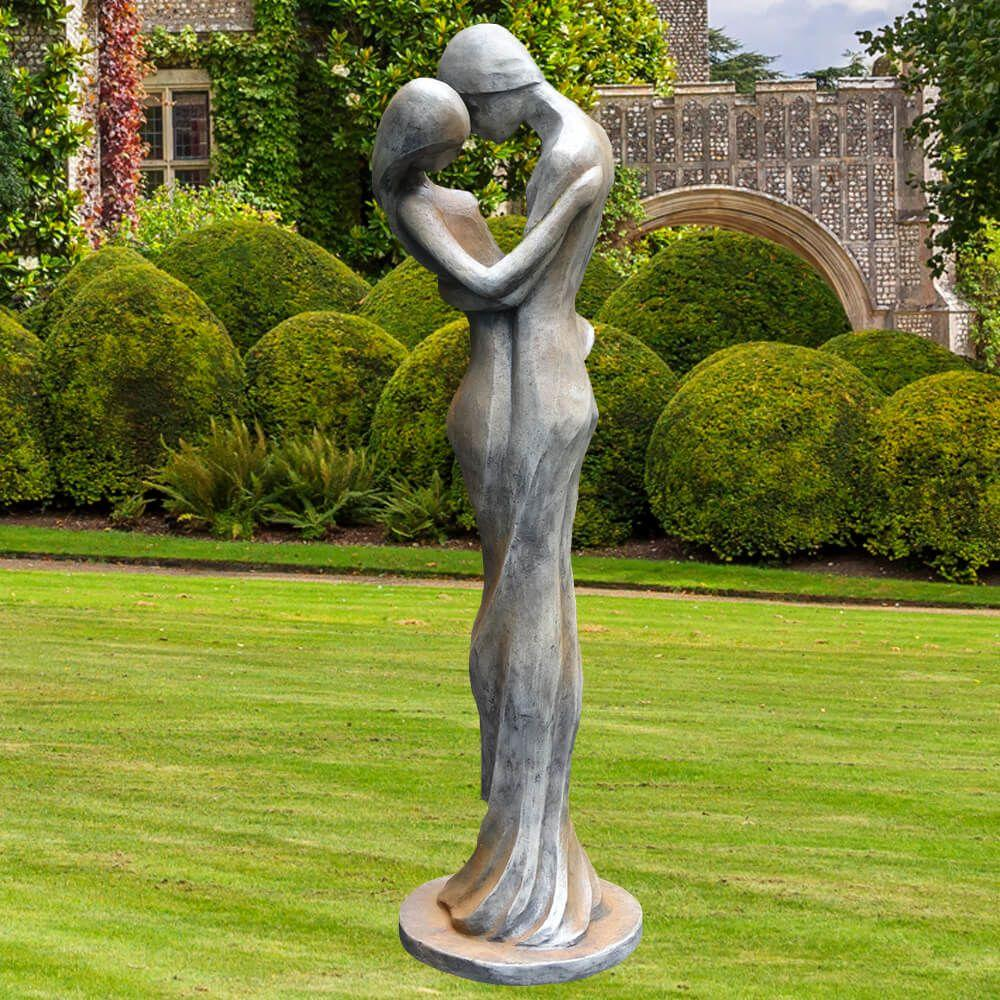 Gartenfiguren Aus Stein Und Metall