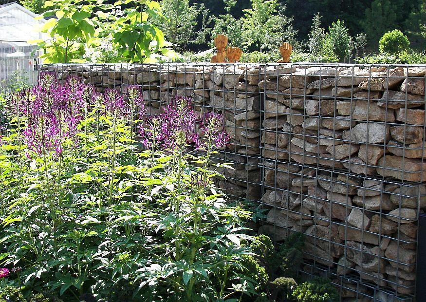 Gartengestaltung Gabionen Ideen Garten