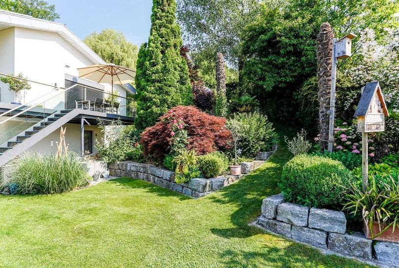 Gartengestaltung Hanglage Ideen