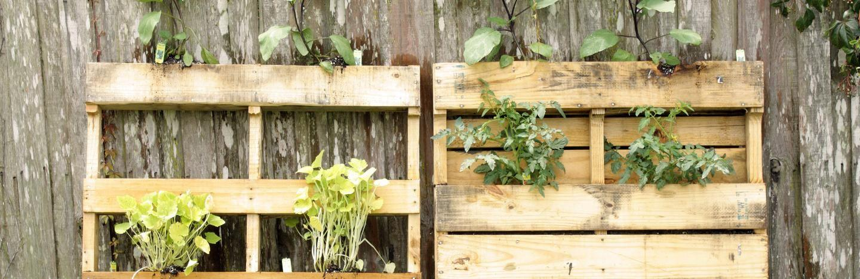 Gartengestaltung Paletten Ideen Kinder