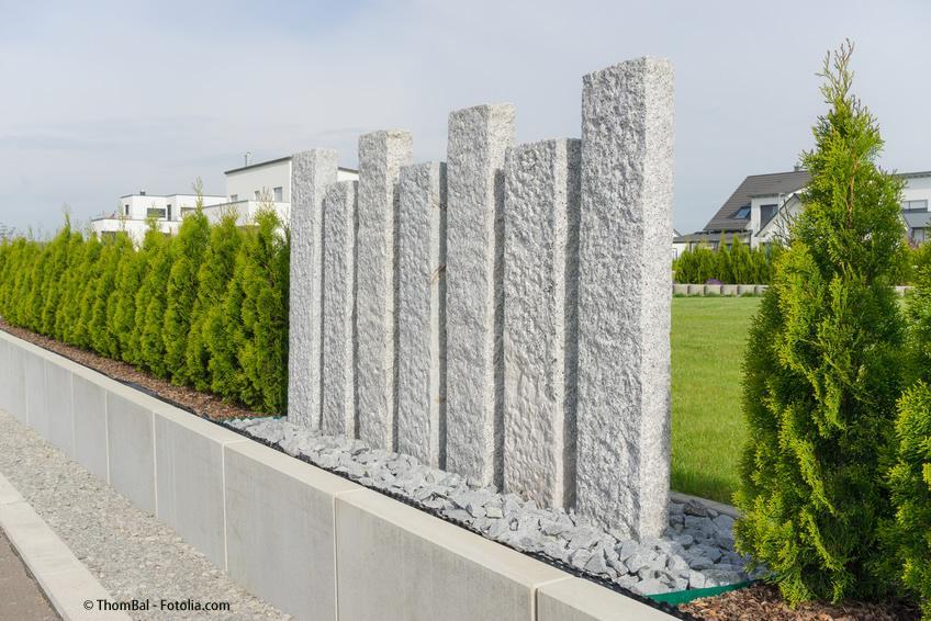 Gartengestaltung Sichtschutz Zum Nachbarn Ideen