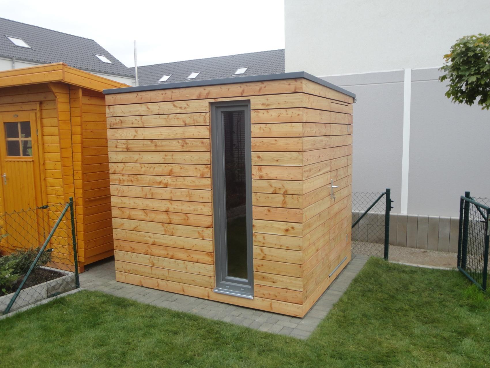 Gartenhaus 2×2 5