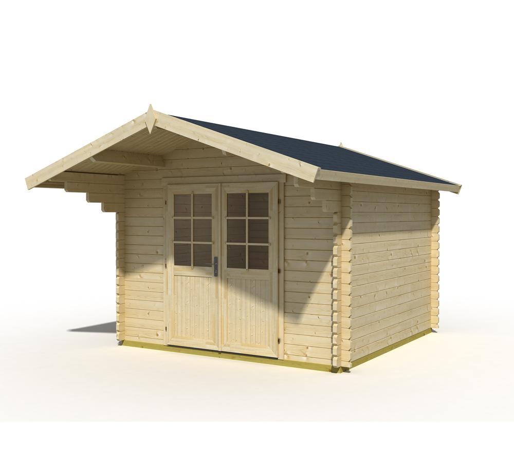 Gartenhaus 3x3m Metall