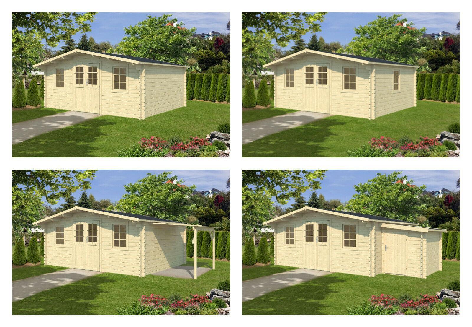 Gartenhaus 4×4 Mit Anbau