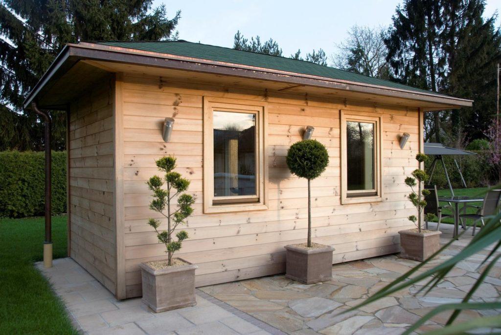 Gartenhaus Anbau Selber Bauen