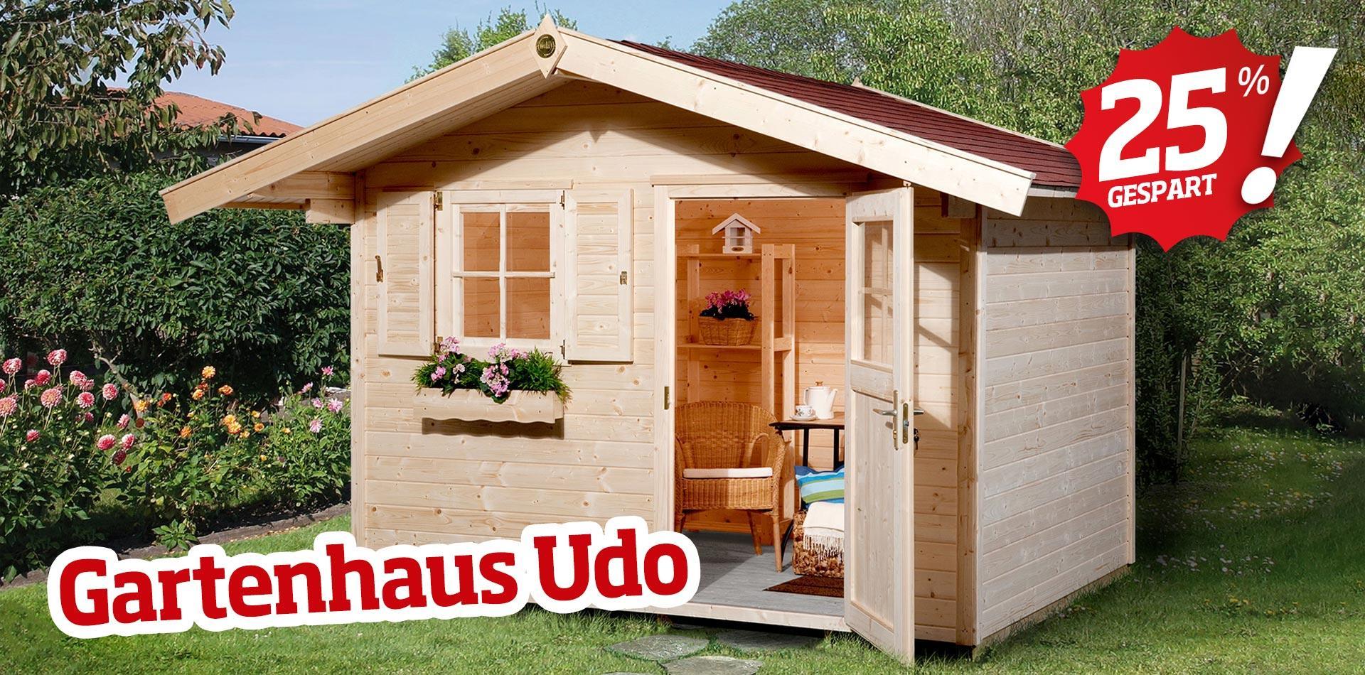 Gartenhaus Holz 3x3m Günstig