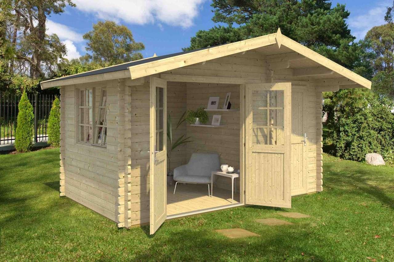 Gartenhaus Holz 4x3m