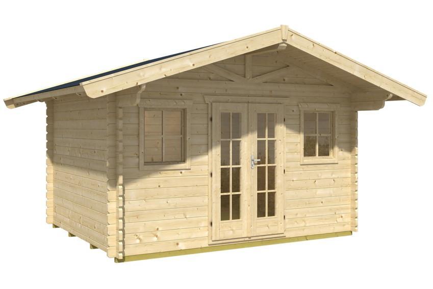 Gartenhaus Mit Doppeltür