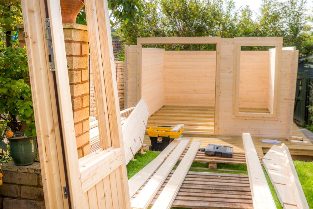 Gartenhaus Mit Holzbackofen