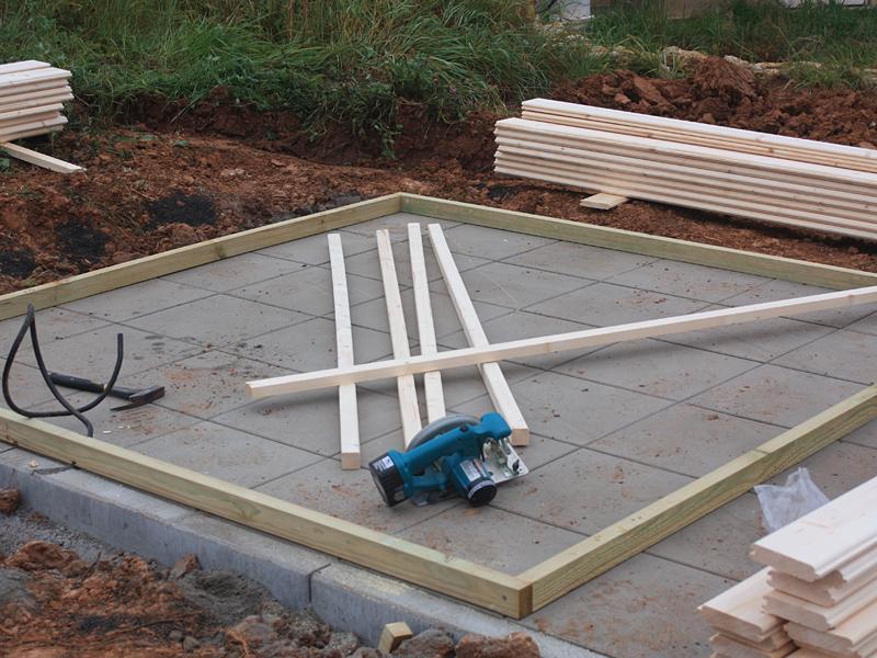 Gartenhaus Mit Pultdach Selber Bauen