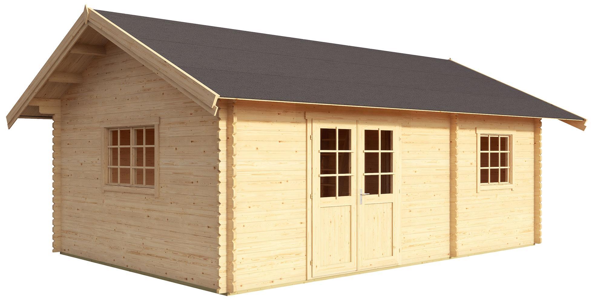 Gartenhaus Mit Schlafboden Selber Bauen