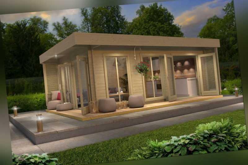 Gartenhaus Modern Mit Terrasse