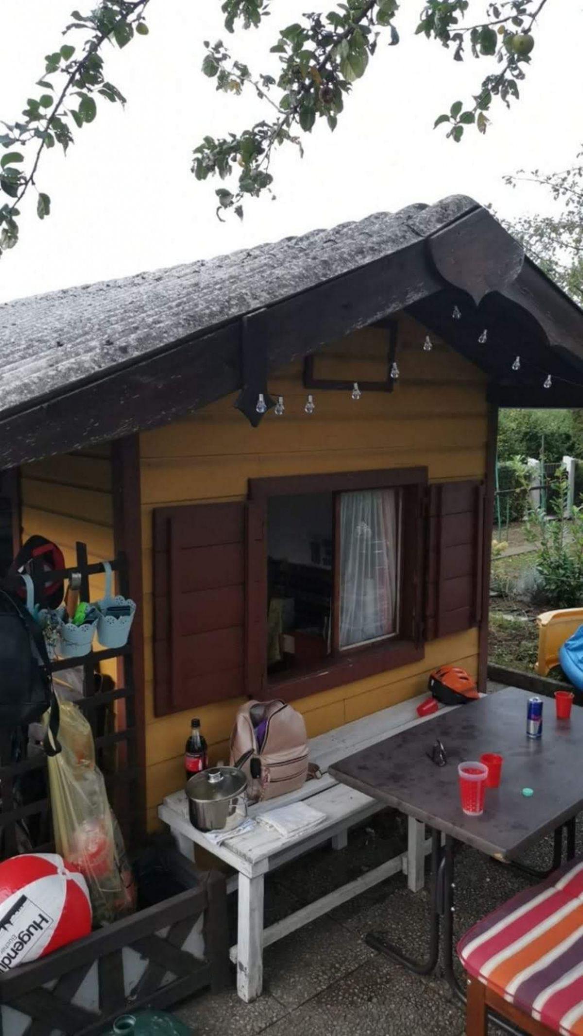 Gartenhaus Zu Verschenken