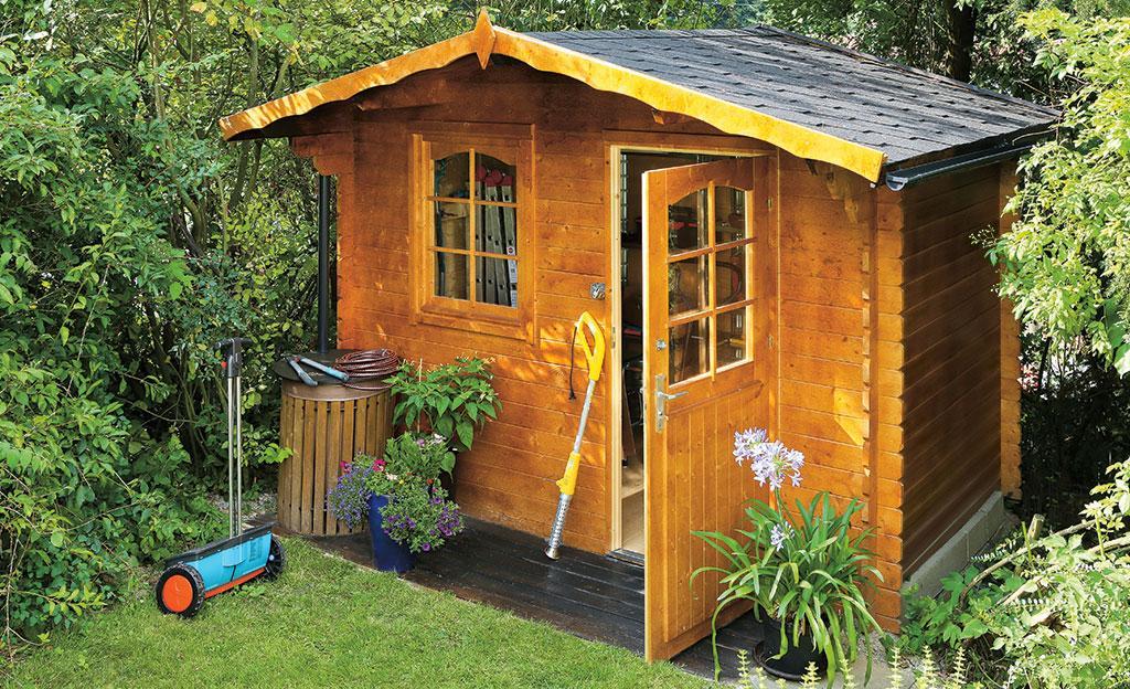 Gartenhäuser Aus Holz Selber Bauen