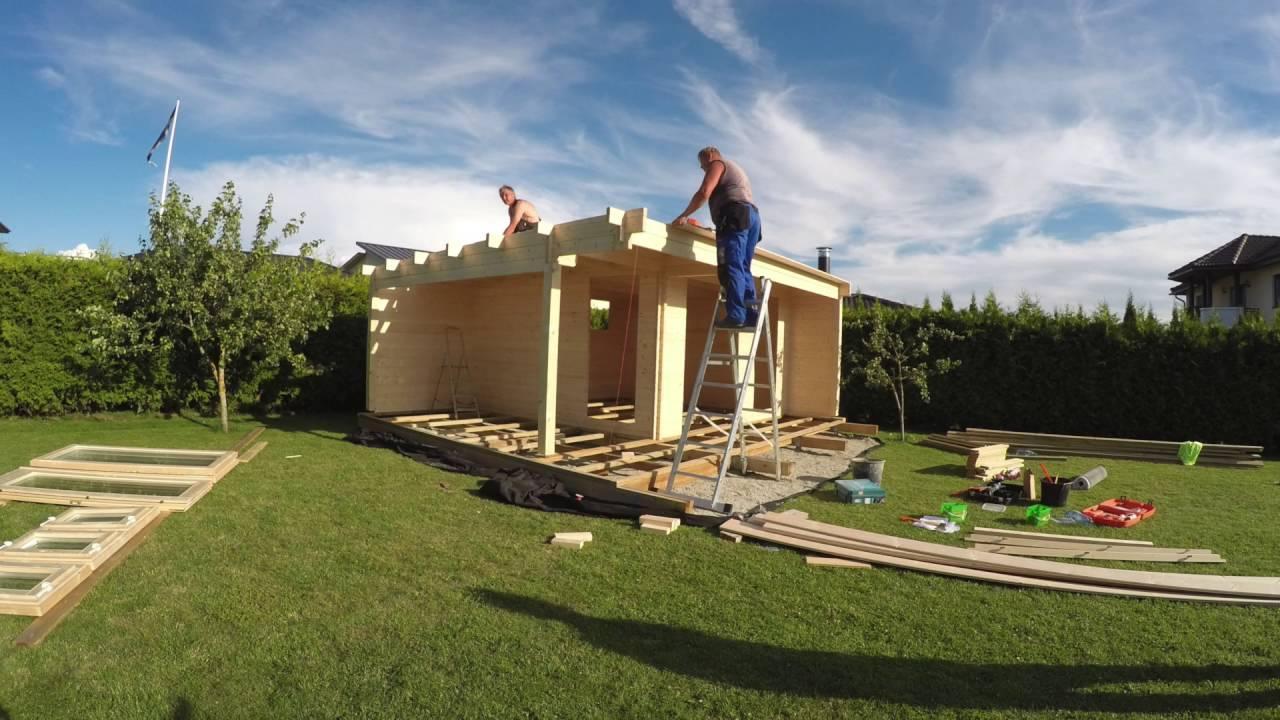 Gartenhütte Holz Bauen