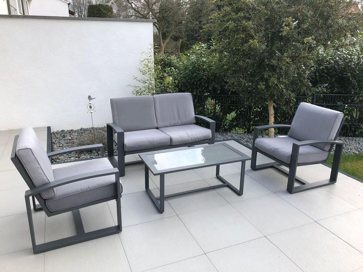 Gartenmöbel Alu Lounge